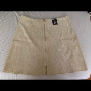 Dresses & Skirts - Corduroy skirt tan